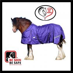1680D Heavy Horse Rainsheet Std Horse Rug Purple