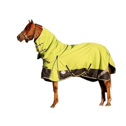 1200D Rainsheet Combo Waterproof Horse Rug Lime