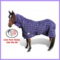 1200D Thermal 300g Doona Stable Combo Horse Rug Purple / Green