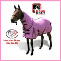 Free Breeze Soft Mesh Combo Mini Horse Rug Pink