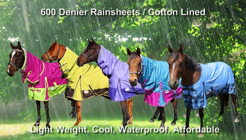 600 Denier Rainsheet