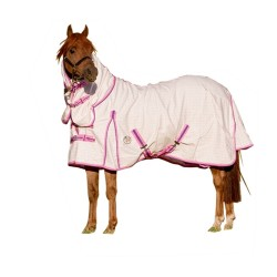 Poly Cotton Combo Horse Rug Pink